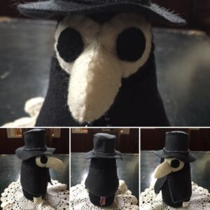 Beaded Plague Doctor