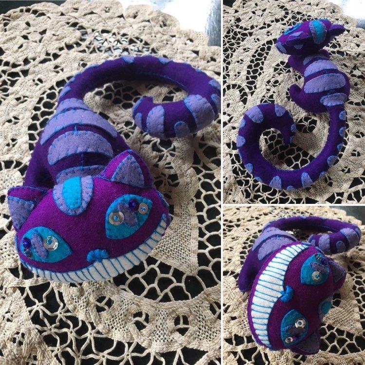 Violet Purple Blue Cheshire