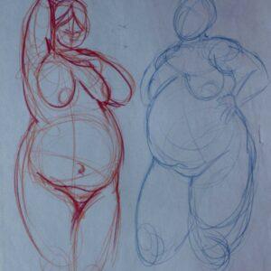 Gesture drawing 6