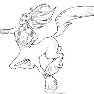 Stampede centaur