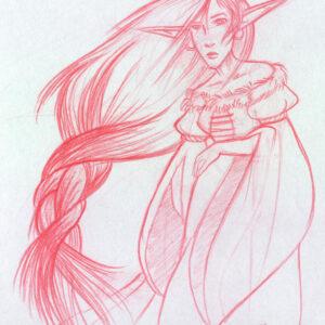 sorrowful maiden
