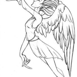 Summon angel doodle
