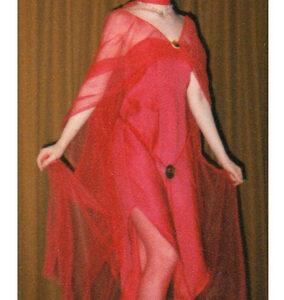 Red Costume design 1