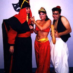 Jasmine Jafar Aladin costumes