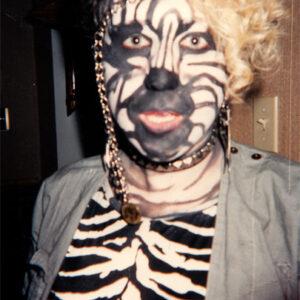 Zebra makeup 1